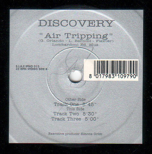 DISCOVERY (2) - Air Tripping - 12 inch 45 rpm
