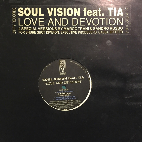 Soul Vision (2) Feat. Tia - Love And Devotion