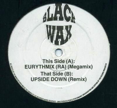 Eurythmics / Diana Ross - Eurythmix (ra (megamix) / Upside Down (remix))