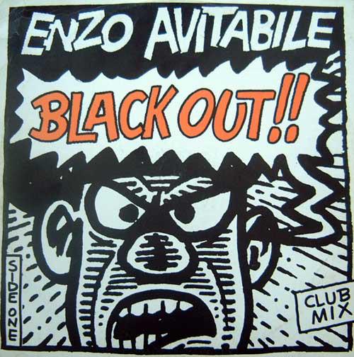 ENZO AVITABILE - Black Out - 12 inch 45 rpm