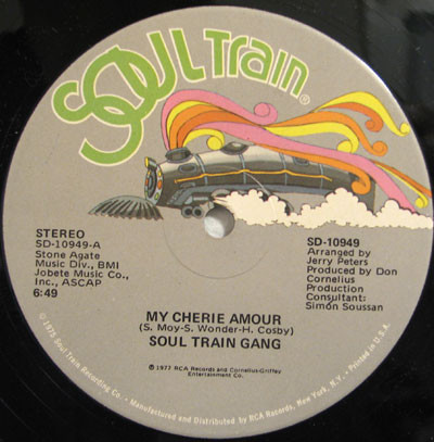 My Cherie Amour - Soul Train Gang