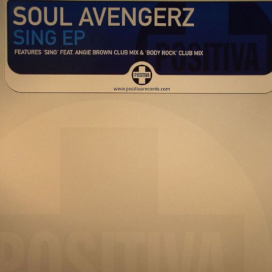 Soul Avengerz - Sing Ep (disc One)