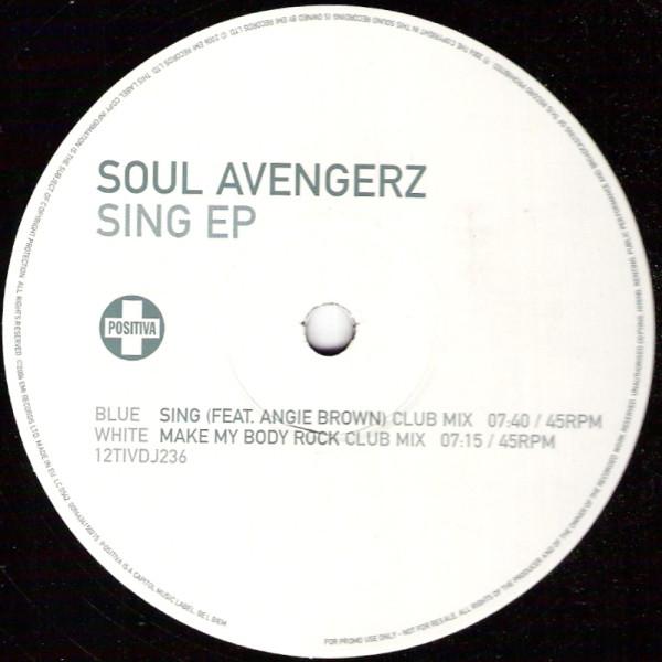 Soul Avengerz - Sing Ep Album