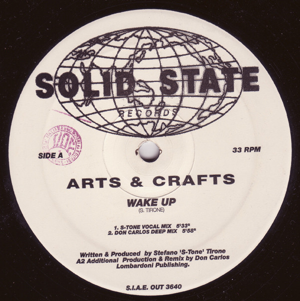 Arts and crafts records lps vinyl and cds musicstack for Vinyl records arts and crafts
