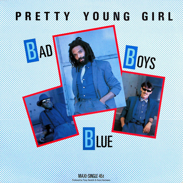 boys girl pretty young Bad blue