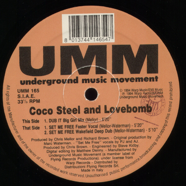 Coco Steel & Lovebomb - You Can't Stop The Groove