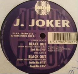 J. JOKER - Black Out - 12 inch 45 rpm