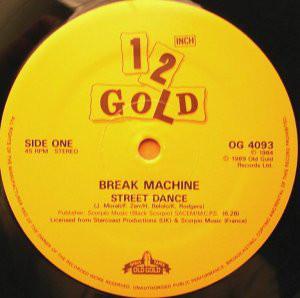 break machine street dance / break dance party
