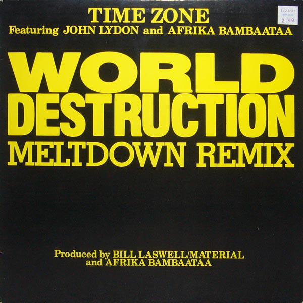Time Zone World Destruction Vinyl Records Lp Cd On Cdandlp