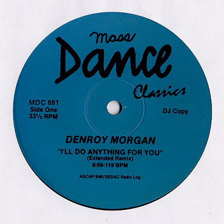 denroy morgan / marvin gaye / santa esmeralda i'll do anything for you / inner city blues / you're my everything