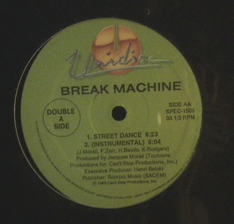 le pamplemousse / break machine le spank / street dance